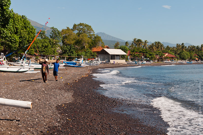 Каменные пляжи