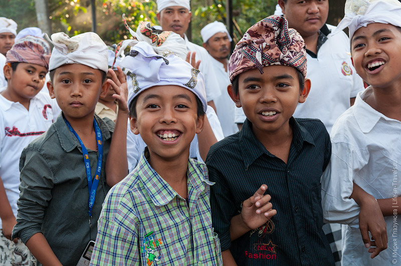 Балийская ребетня
