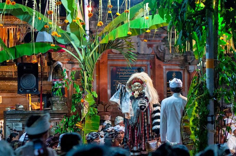 Церемория в храме
