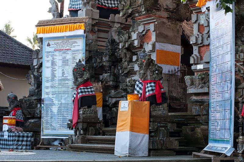 Церемонии в храме