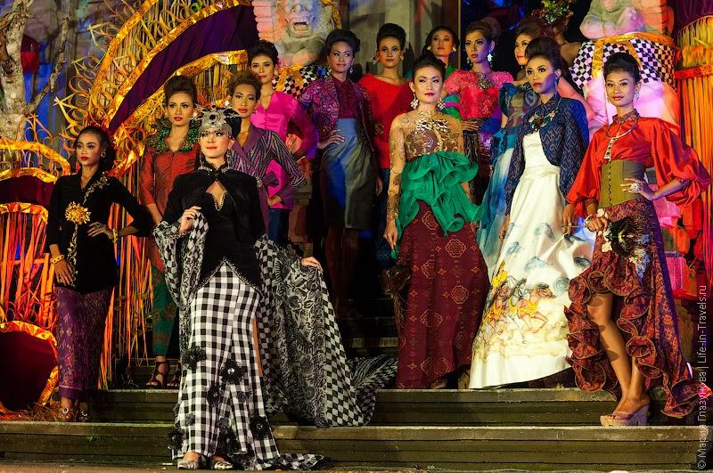 Показ мод на Бали
