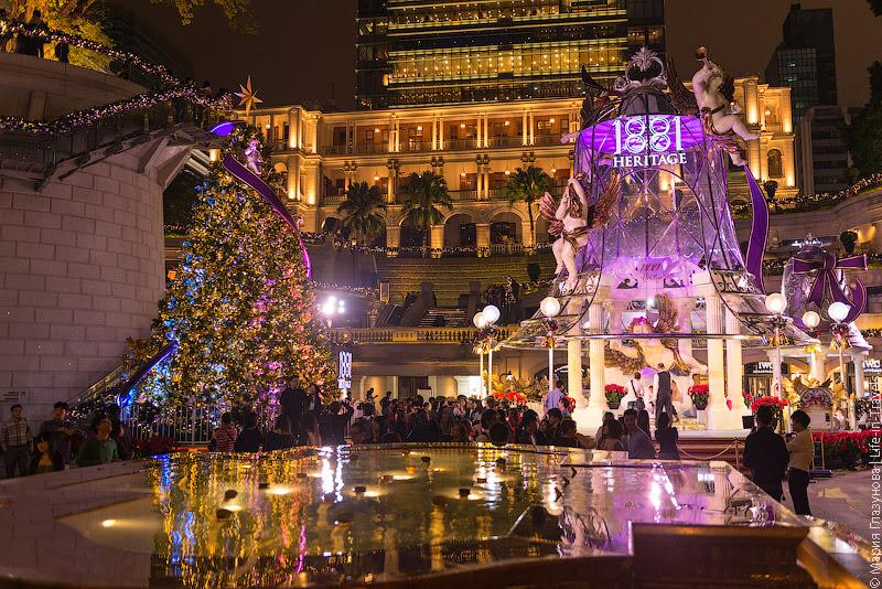 Рождественский Гонконг