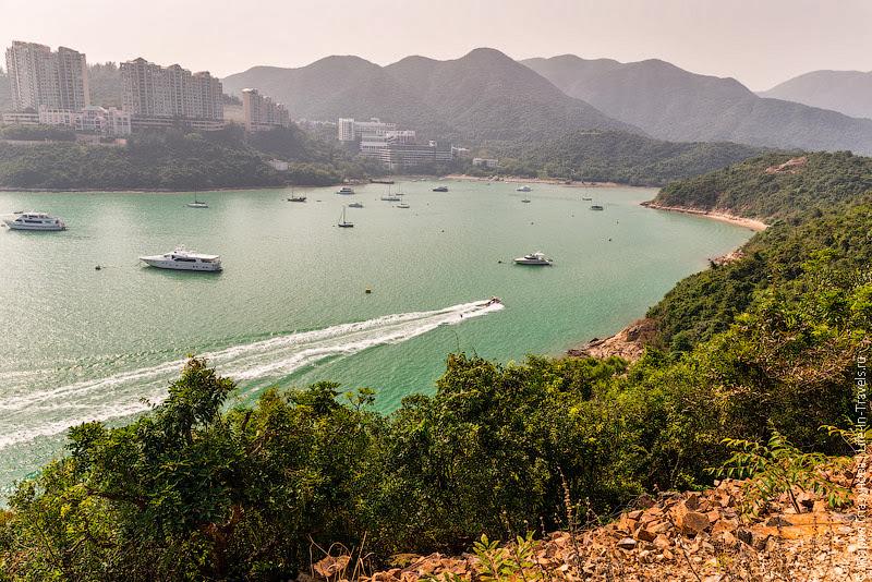 Бухта в Гонконге