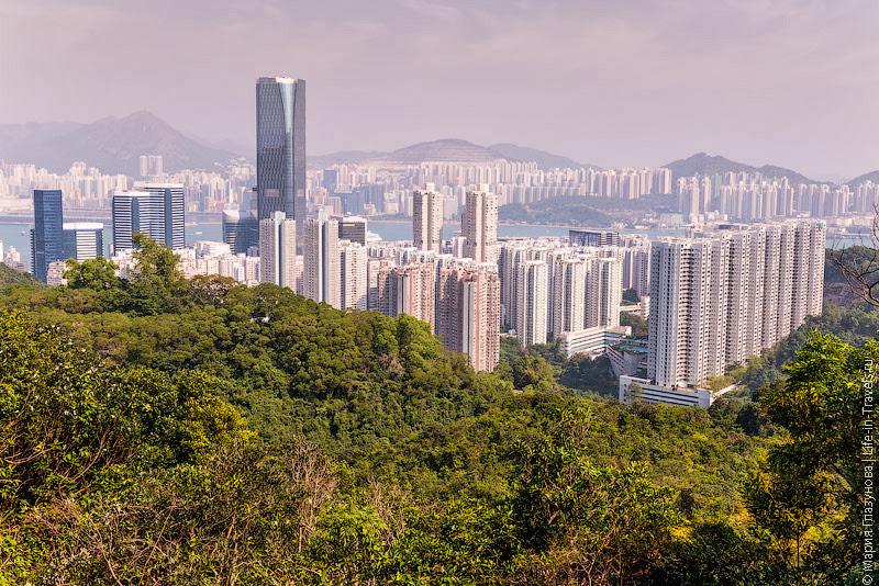 Густонаселённый Гонконг