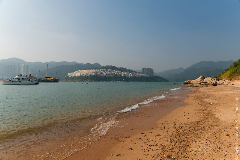 Пляж в Гонконге
