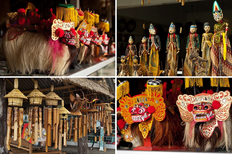 Балийские сувениры