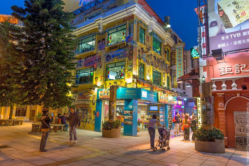 Самая туристическая улица на Тайпе