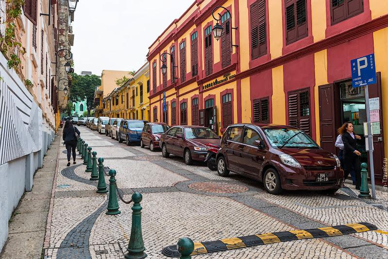 Улицы в Макао