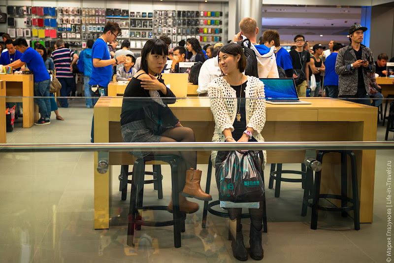 Apple в Гонконге