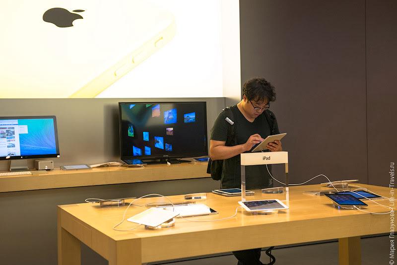 iPad в Гонконге