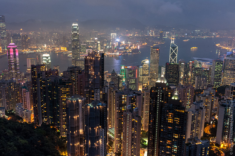 Небоскрёбы Гонконга