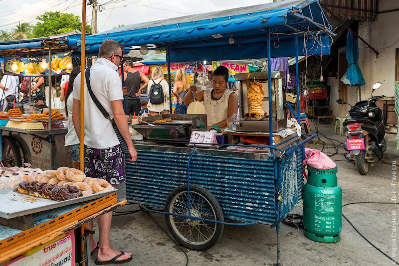 Найтмаркет в Таиланде