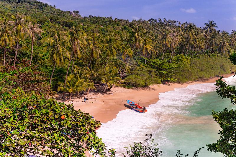 Пляж Haad Thian, Ко Панган