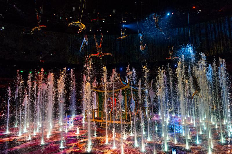 Шоу «Дом танцующей воды»
