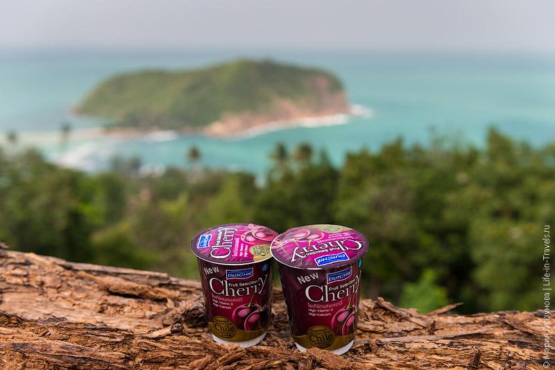 Самый вкусный (из покупных) йогурт в Таиланде