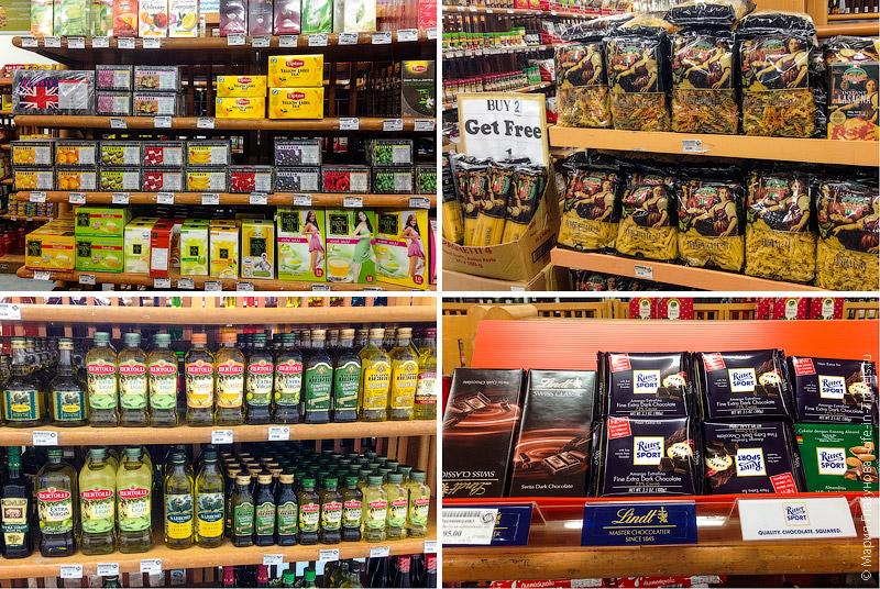 Импортные продукты в Таиланде