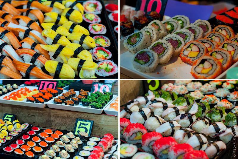 Тайские суши