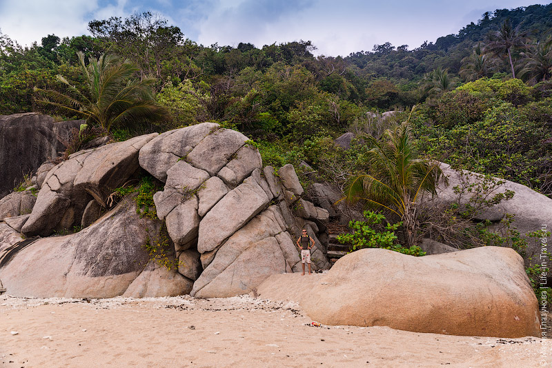 Скалы на Haad Khonthi