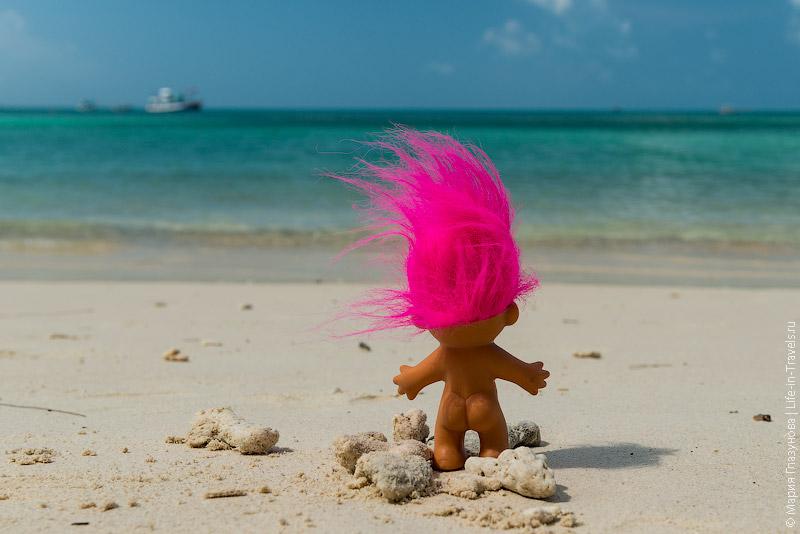 Дикий пляж на Хаад Рине