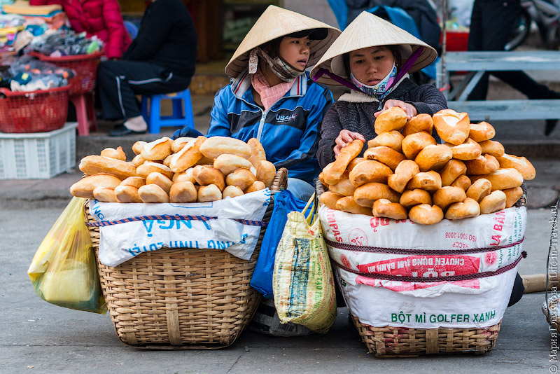 Французские багеты во Вьетнаме
