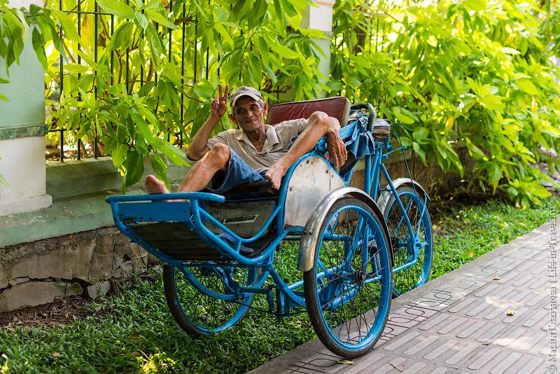 Вьетнамские велорикши
