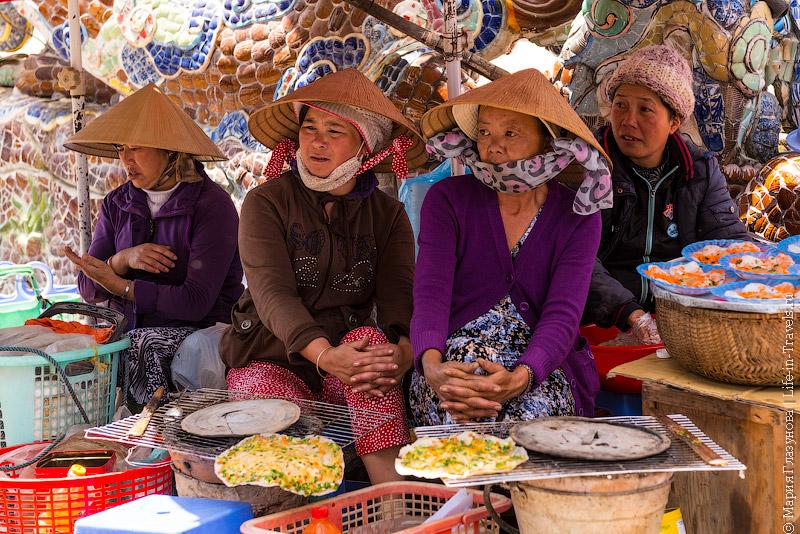 Уличные торговки во Вьетнаме