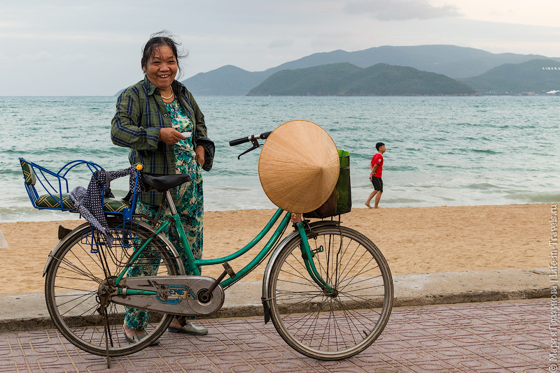 Вьетнамская велосипедистка
