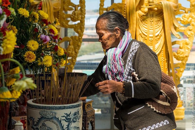 Религиозная церемония во Вьетнаме