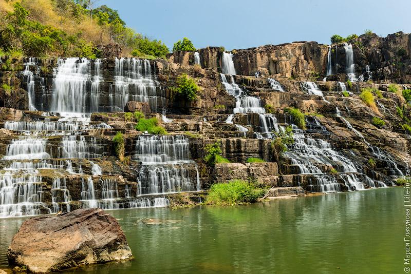 Водопад Понгур, Далат