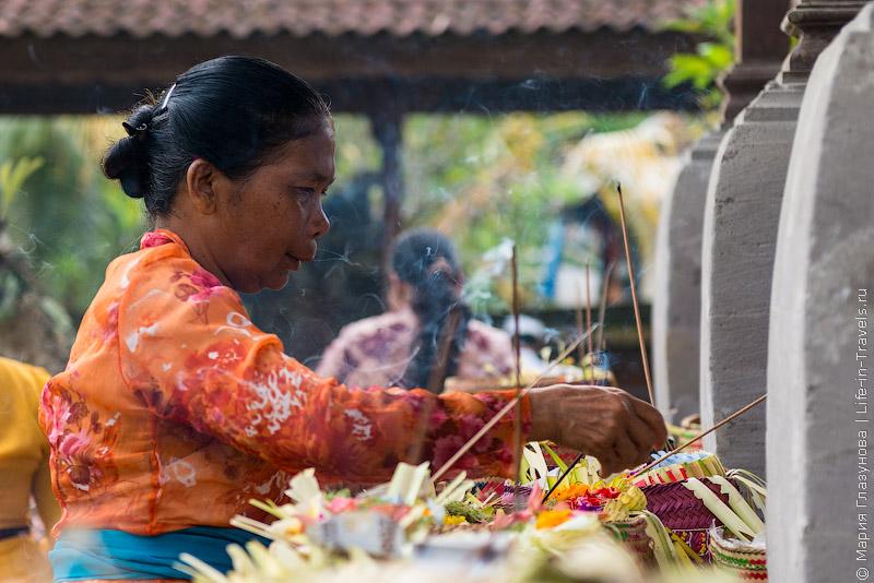 В балийском храме