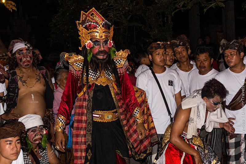 Балийский новогодний парад