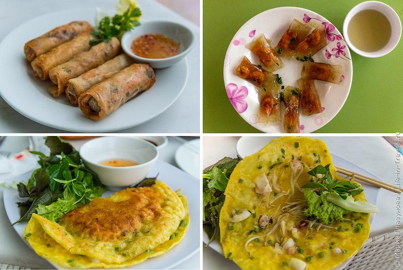 Вьетнамская кухня: Роллы и блинчики