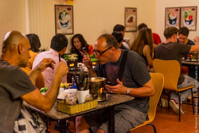 Вьетнамская кухня: Кафе во Вьетнаме
