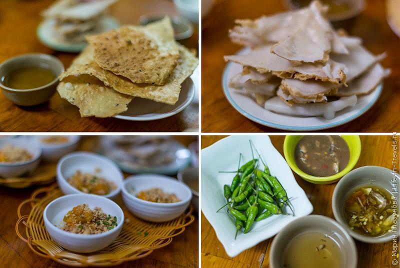 Вьетнамская кухня: Вариации рисовых блинов и рисовой бумаги