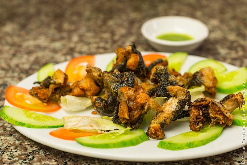 Вьетнамская кухня: Лягушачьи лапки
