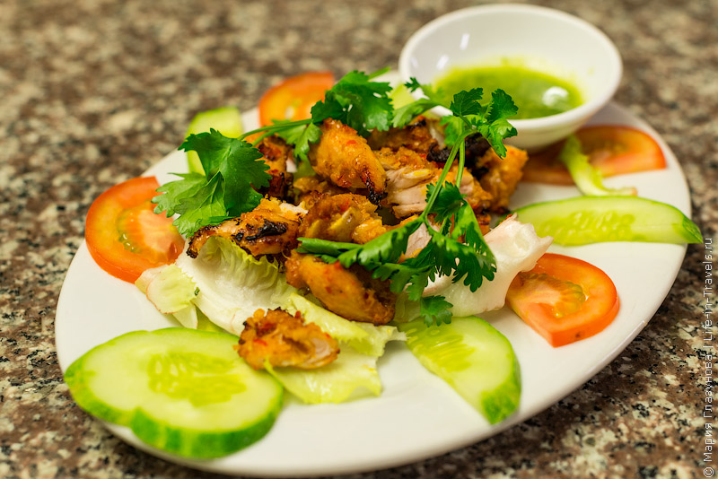 Вьетнамская кухня: Мясо крокодила