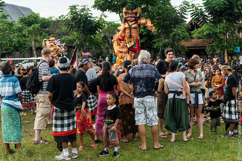 Поле демонов на Бали