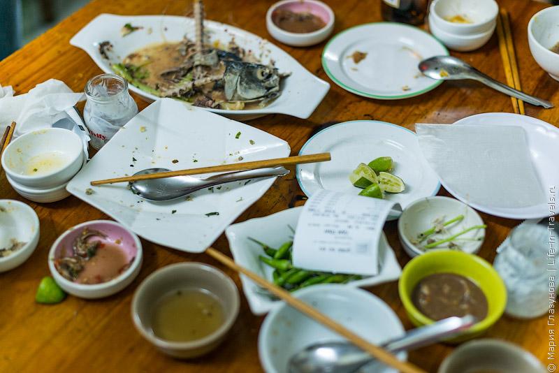 Вьетнамская кухня: После ужина