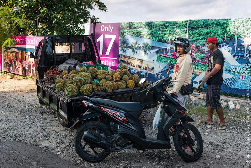 Дурианы на Бали