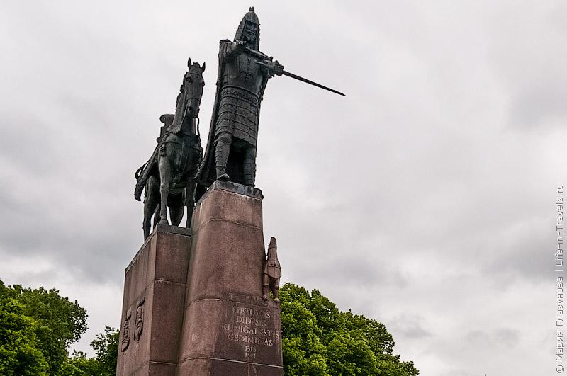 Статуя Гедиминаса