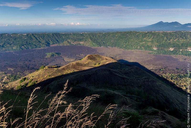 Вулкан Батур на Бали Вулкан Батур на Бали Вулкан Батур на Бали