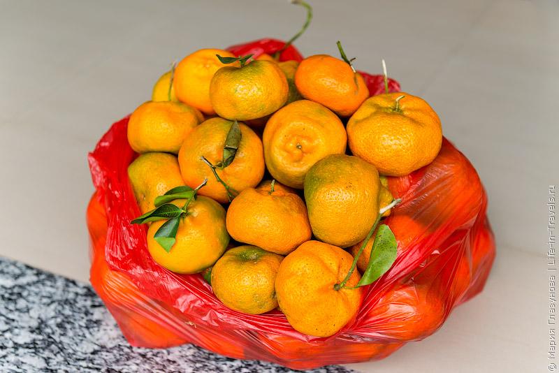Балийские мандарины