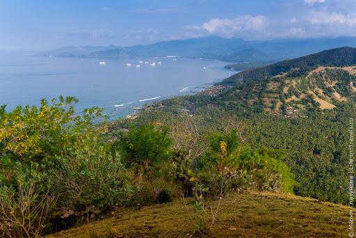 Вид на Чандидасу и Паданг Бай, Бали