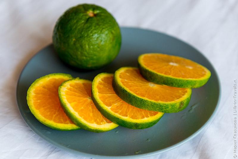 Зелёные мандарины (танжерины).jpg