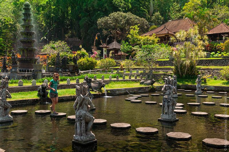Тирта Ганга – водный дворец на Бали