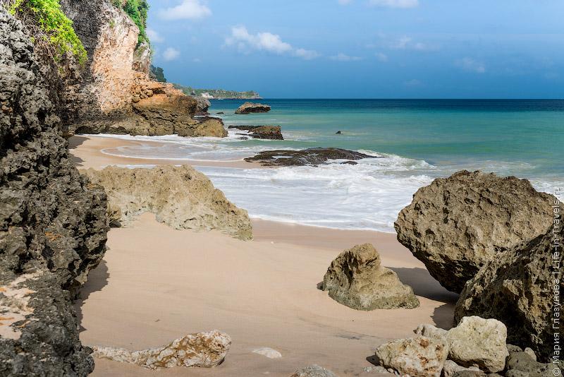 Секретный пляж в Джимбаране