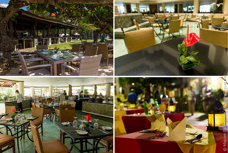 Рестораны в Мираже