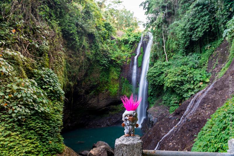 Водопад Алинг-Алинг, Бали