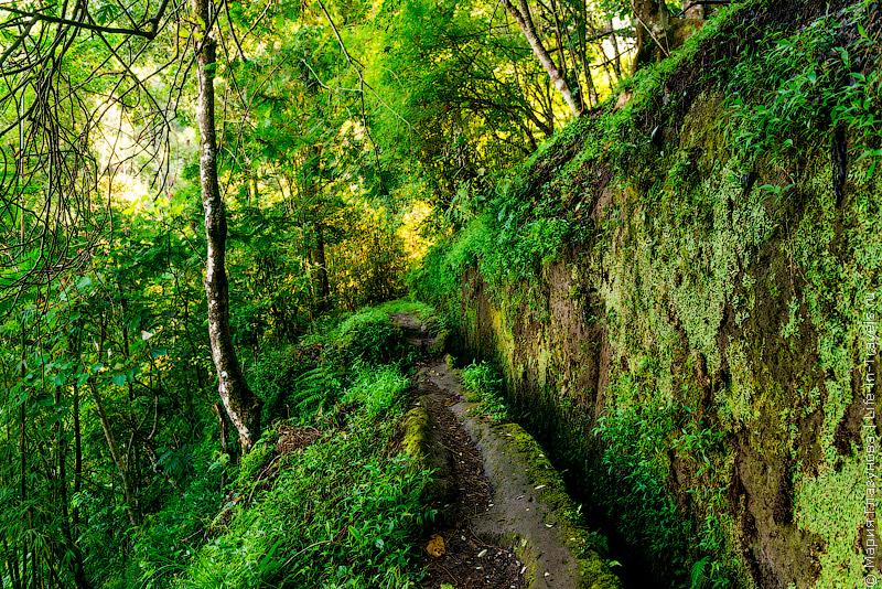 Тропа к водопаду Мундук