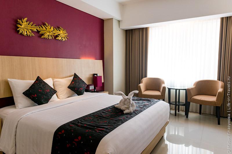 Отель The Kana в Куте, Бали